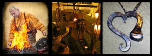 Now into his 18th year, Kenneth Kurts built a traveling forge for demonstrations at events highlighting the 18th and 19t